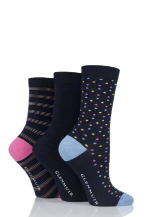 Plain No Show Socks - White