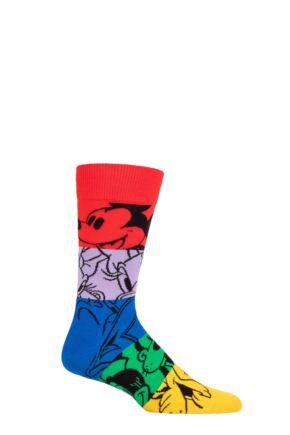Happy Socks 1 Pair Disney Colourful Friends Socks
