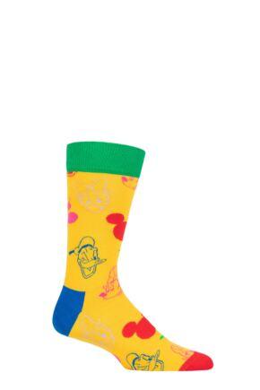 Happy Socks 1 Pair Disney All Smiles Socks Multi 7.5-11.5 Unisex