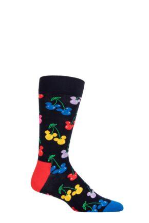 Happy Socks 1 Pair Disney Very Cherry Mickey Socks