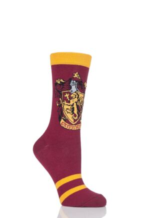 Ladies Harry Potter House Badges Socks