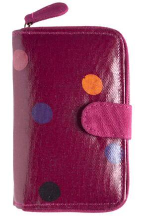 Ladies Bewitched Spots, Spots, Spots Polka Dot Design Wallet Purse 75% OFF Fuchsia