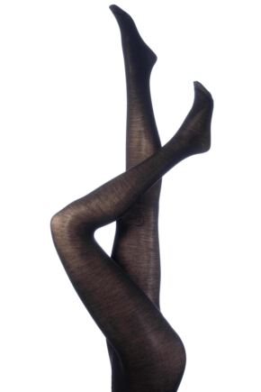 Ladies 1 Pair Levante Plain 100 Denier Wool Tights