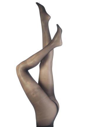 Ladies 1 Pair Trasparenze Marika Microfibre 15 Denier Sheer Tights 25% OFF Dark Grey Large