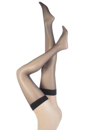 Ladies 1 Pair Aristoc 10 Denier Ultra Shine Stockings with Silk Finish
