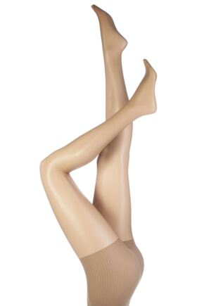 Ladies 1 Pair Aristoc 10 Denier Ultra Shine Control Top Tights with Silk Finish
