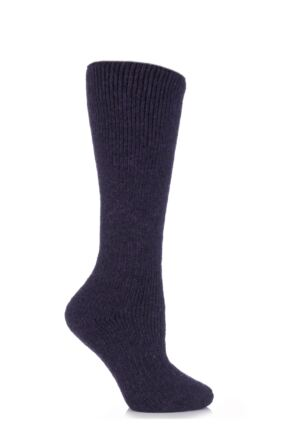 Ladies 1 Pair SockShop Heat Holders Wool Rich Long Thermal Socks