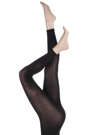 Ladies 1 Pair Pretty Polly Heat Sense 80 Denier Leggings