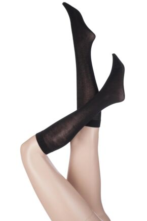 Ladies 1 Pair Pretty Polly Heat Sense 80 Denier Knee Highs
