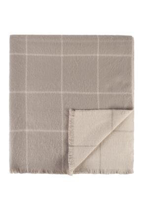Ladies Fraas Cashmink Large Squares 92 x 200cm Shawl Wrap