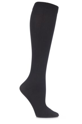 Ladies 1 Pair SockShop Iomi 80 Denier Flight and Travel Socks