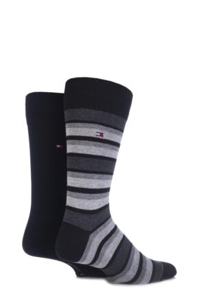 Tommy Hilfiger Variation Striped Cotton Socks