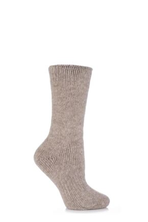 Ladies 1 Pair SockShop Heat Holders Wool Rich Thermal Socks