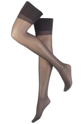 Ladies 1 Pair Elbeo Sheer Magic Medium Support Stockings