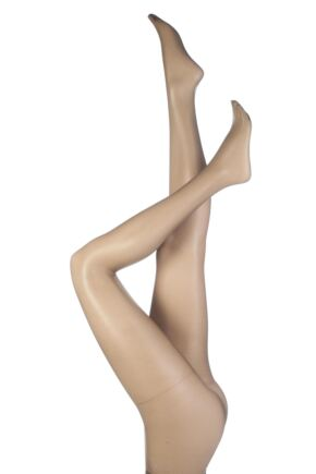 Ladies 1 Pair Aristoc 10 Denier Ultra Shine Tights with Silk Finish Vaguely Black