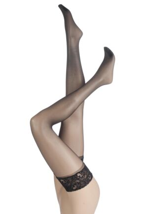 Ladies 1 Pair Charnos 10 Denier Run Resist Hold Ups