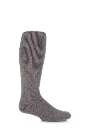 Mens 1 Pair SockShop Heat Holders Wool Rich Long Thermal Socks