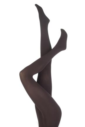Ladies 1 Pair Falke Pure Matt 100 Tights Cigar XL