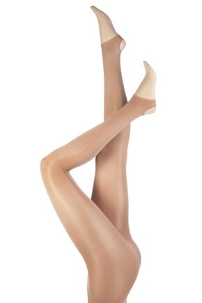 Ladies 1 Pair Silky Dance Shimmer Stirrup Tights