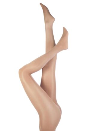 Ladies 1 Pair Silky Dance Shimmer Full Foot Tights