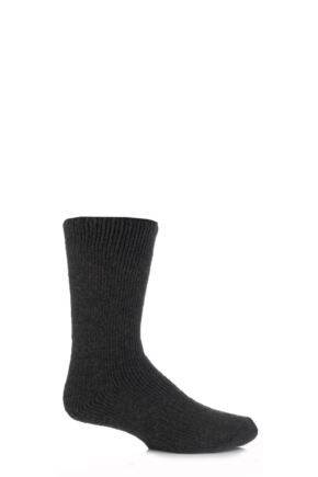 Mens 1 Pair SockShop Heat Holders Wool Rich Thermal Socks