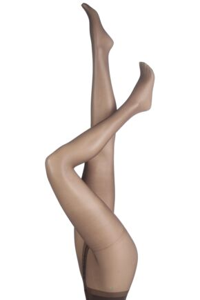 Ladies 1 Pair Charnos 15 Denier Sheer Lustre Tights