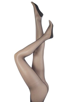 Ladies 1 Pair Silky Dance Professional Fishnet Tights