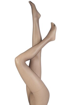 Ladies 1 Pair Levante Fishnet Tights