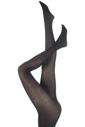 Ladies 1 Pair Trasparenze Melani 80 Denier Cotton Tights