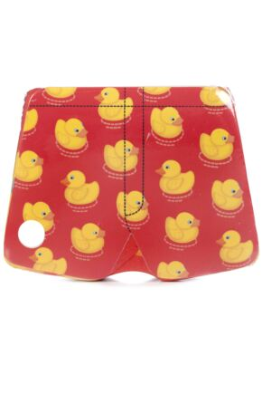 Mens 1 Pair Magic Boxer Shorts In Duck Pattern Duck M