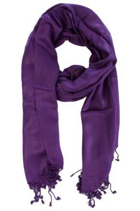 Ladies Bewitched Pashmina Style Scarf In 10 Colours
