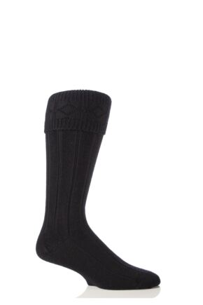 Mens 1 Pair Glenmuir Wool Kilt Socks