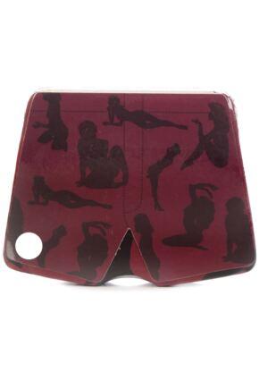 Mens 1 Pair Magic Boxer Shorts In Ladies Pattern 50% OFF Ladies L