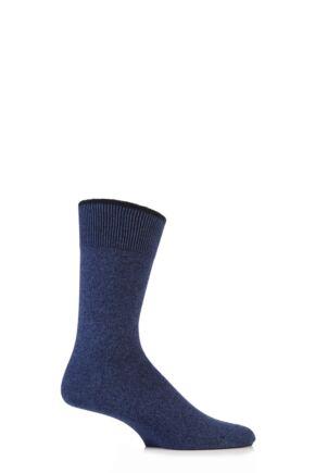 Mens 1 Pair Falke Graduate Cashmere Blend Socks