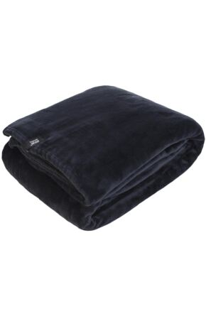SockShop Heat Holders Snuggle Up Thermal Blanket In Black