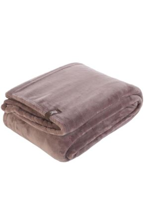 SockShop Heat Holders Snuggle Up Thermal Blanket In Winter Fawn