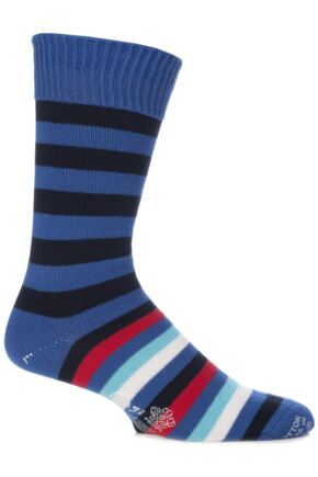 Corgi 100% Cotton Half Striped Socks