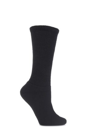 Ladies 1 Pair HJ Hall Wool Diabetic Socks