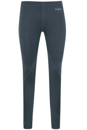 Ladies 1 Pack Glenmuir Compression Base Layer Leggings Grey 12-14
