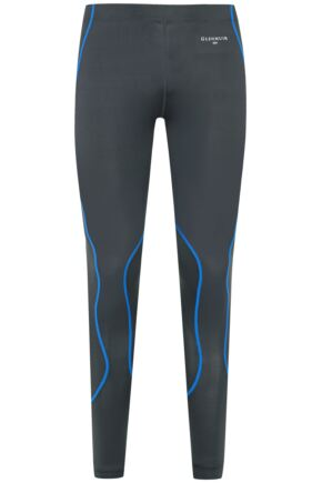 Mens 1 Pack Glenmuir Compression Base Layer Leggings Grey M