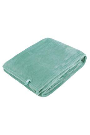 SockShop Heat Holders Snuggle Up Thermal Blanket In Duck Egg Duck Egg 180 x 200cm