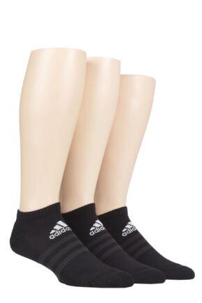 Adidas 3 Pair Cushioned No Show Socks
