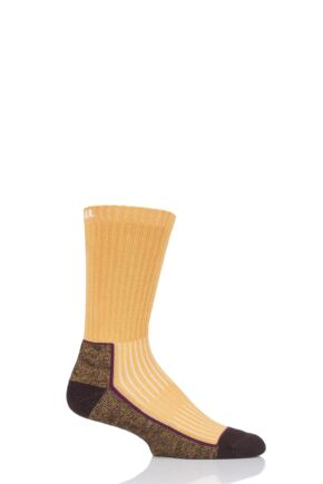 UpHill Sport 1 Pair Made in Finland Hiking Socks Yellow 5.5-8 Unisex