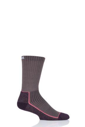 UpHillSport 1 Pair Made in Finland Hiking Socks Brown 5.5-8 Unisex