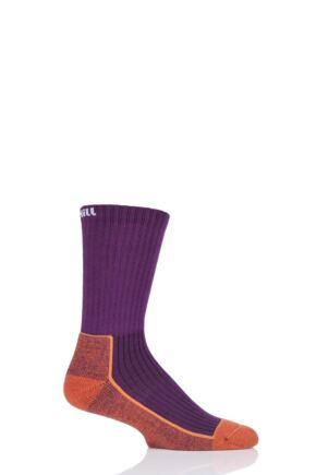 UpHillSport 1 Pair Made in Finland Hiking Socks Purple 5.5-8 Unisex