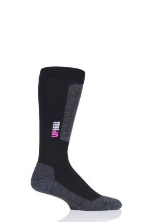 "Mens and Ladies 1 Pair UpHillSport  ""Halla"" Alpine 4 Layer L3 Socks"