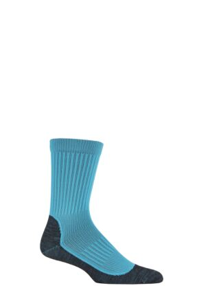UpHillSport 1 Pair Winter XC 2 Layer Merino Wool Winter Running Socks