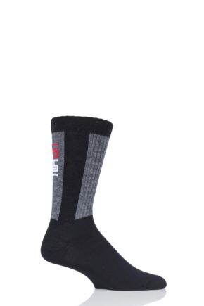 "Mens and Ladies 1 Pair UpHill Sport ""Rokka"" Trekking 3 Layer L4 Socks"