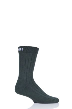 "Mens and Ladies 1 Pair UpHillSport  ""Kaldo"" Hunting H5 Boot Socks Green 5.5-8 Unisex"
