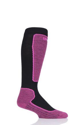 "Mens and Ladies 1 Pair UpHillSport ""Valta"" Alpine Ski 4 Layer M5 Socks"